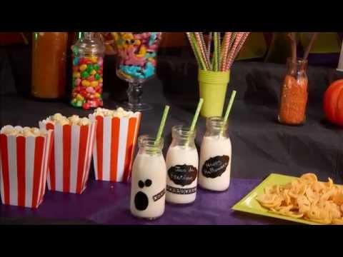 Alkoholfreier Halloween-Cocktail für Kinder