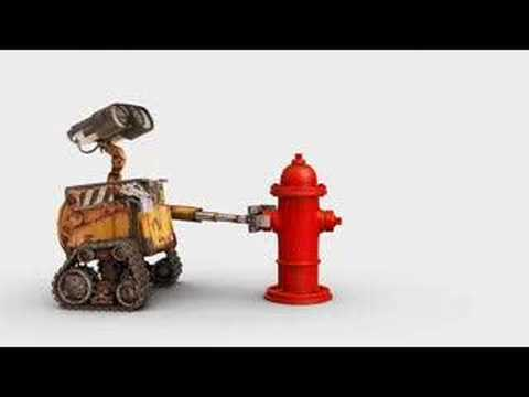 Wall-E (Meets Fire Hydrant Vignette)
