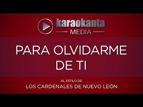 Para olvidarme de ti Cardenales de Nuevo León