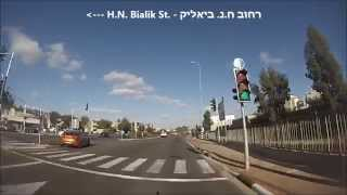 preview picture of video 'כביש 40 מצומת בילו למחלף לוד - Road 40 from Bilu Junction to Lod Interchange'