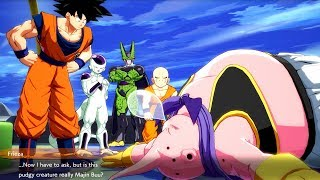 Dragon Ball FighterZ - Frieza and Cell Meet Majin Buu & Buu Wants To Beat Up Frieza