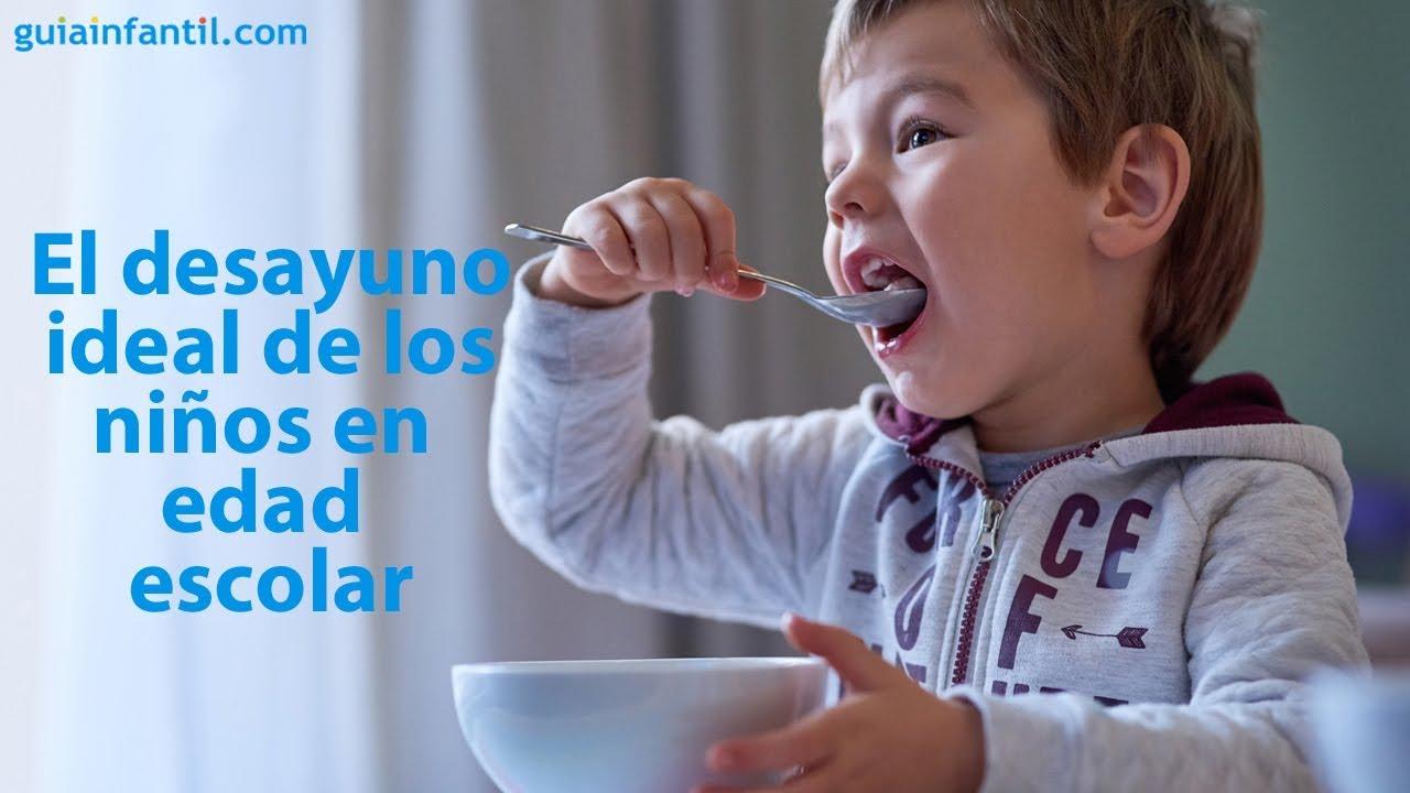 El desayuno ideal para los niños en edad escolar   #ConectaConTuHijo