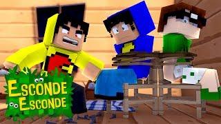 Minecraft: PAC REVERSO! (Esconde-Esconde)
