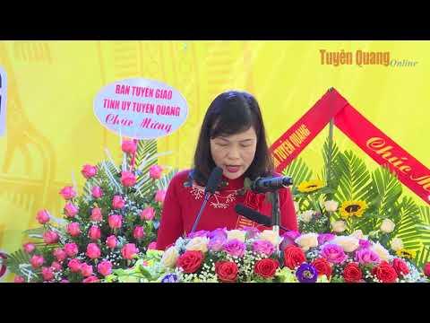 Ngày 1-11, Trường THPT Tháng Mười, xã Mỹ Bằng (Yên Sơn) long trọng tổ chức Lễ kỷ niệm 30 năm thành lập (1990-2020).
