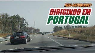 Como é dirigir nas estradas de Portugal? Vlog T01 EP 12