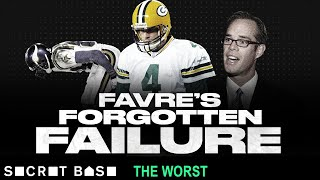 Brett Favre's worst playoff game was overshadowed by Randy Moss' butt thumbnail