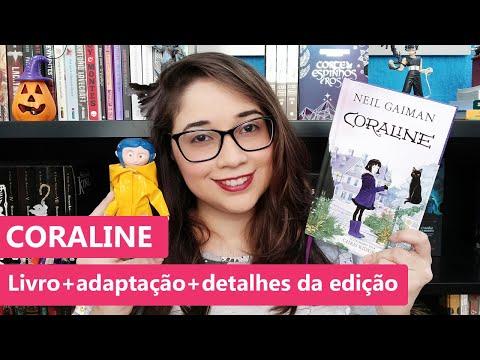 CORALINE - Neil Gaiman: Livro, filme e detalhes da edição ??? | Biblioteca da Rô