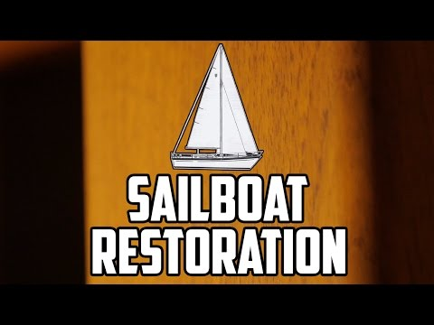 Sail Life – Compact laminate, painting, varnishing, aft cabin plans – DIY sailboat refit