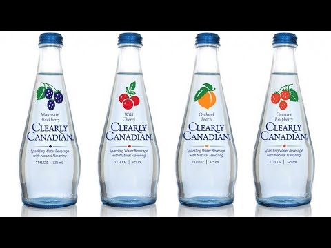 Clearly Canadian Flavored Sparkling Water Taste Test