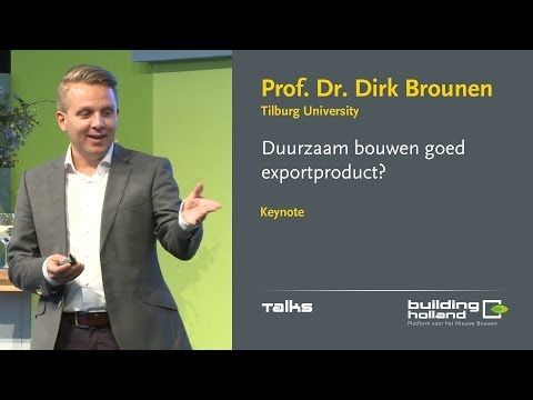 Dirk Brounen, Global Real Estate Sustainability Benchmark