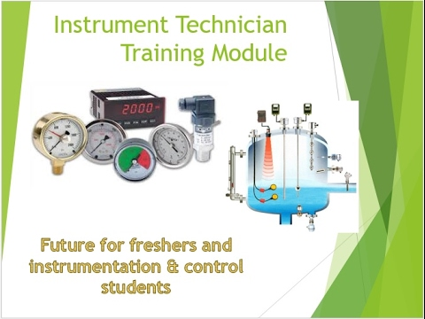 Instrumentation and control training course part - 1 - YouTube