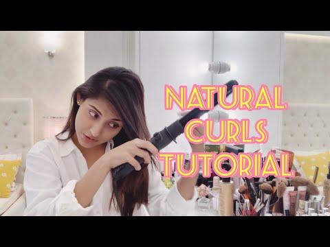 Natural hair curls tutorial | Mehazabien
