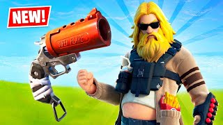NEW UPDATE!! Flare Gun Gameplay! (Fortnite Season 3)
