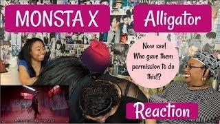 MONSTA X ALLIGATOR REACTION [ YEP A LONG ONE FAM]