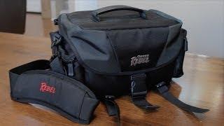 Canon Rebel DSLR Camera Bag Review