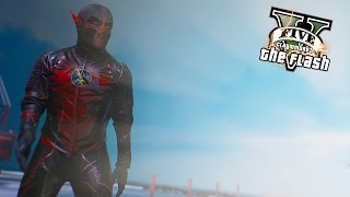 GTA 5 PC - Reverse Flash Of Prime Earth ! (The Ultimate Flash Mod)