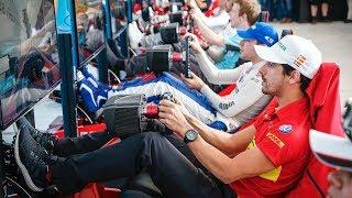 🔴 Miniminter vs Racing Drivers vs Fans! Rome Simulator E-Race - ABB FIA Formula E Championship