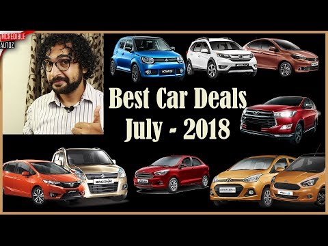 Car Discounts This Month | July - 2018 | Incredible Autoz