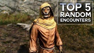 Skyrim - Top 5 Random Encounters