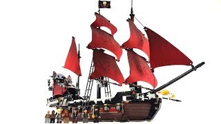 LEGO Pirates of the Caribbean Set 4195 - Queen Anne's Revenge / Review deutsch