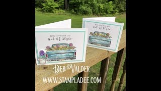 Happy Adventure with Deb Valder & Fun Stampers Journey