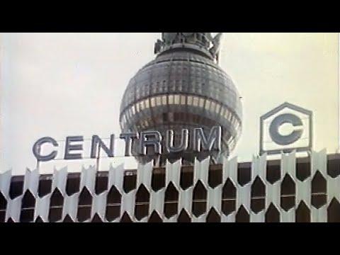 ГДР. Универмаг «Центрум» - пример современной торговли 8.08.1987