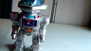 RC Radio Controlled Robot Walk Talking Shoot Slide Toys
