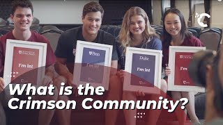 youtube video thumbnail - What is the Crimson Community?