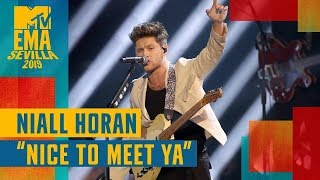 Niall Horan – Nice To Meet Ya (LIVE)  MTV EMA 2019
