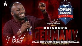 DUISBURG, GERMANY Day 2 Morning with Apostle Johnson Suleman