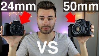 Canon 24mm F2.8 vs 50mm F1.8