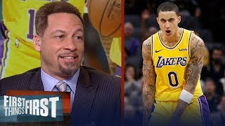 Chris Broussard is encouraged with the Lakers' performance without LeBron | NBA | FIRST THINGS FIRST