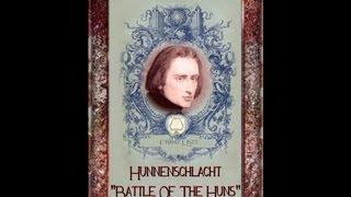 Liszt -Hunnenschlacht