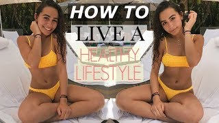 TEENAGE HEALTHY LIFESTYLE ROUTINE (6am workout, school, and what i eat)