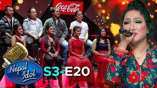 Coca-Cola Nepal Presents NEPAL IDOL SEASON 3   PERFORMANCE DAY   EPISODE 20   AP1HD