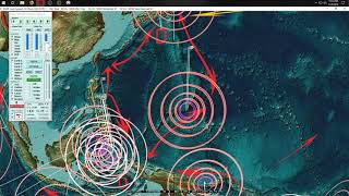 """1/11/2019 -- Deep Earthquake """"event"""" underway -- Major seismic unrest due next several days"""
