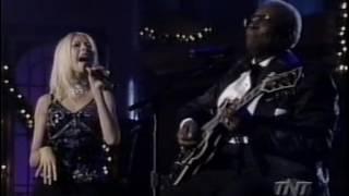 """CHRISTINA  AGUILERA & B. B. KING - """"MERRY CHRISTMAS BABY"""", 1999 [122]"""