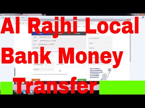 Al Rajhi Bank Transfer !!! How To Transfer Money Al Rajhi To Al Rajhi