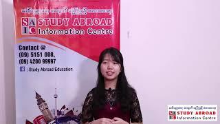 STUDY ABROAD Student: Ms. Aye Mya Thida