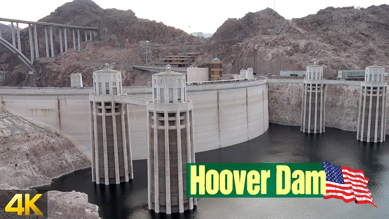 Late afternoon stop at the Hoover Dam