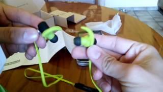 VTIN Bluetooth Kopfhörer 4.1 Sport Stereo Kopfhörer In Ear Ohrhörer mit APT-X