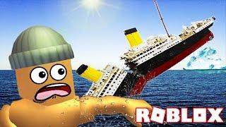 SURVIVING THE TITANIC IN ROBLOX
