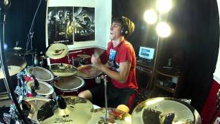 MONSTA - Holdin' On - Drum Cover (Skrillex & Nero Remix)