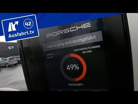 Ladekurve 2021 Porsche Taycan Performancebatterie Plus