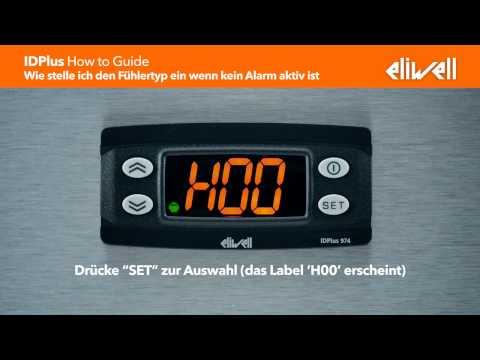 """IDPlus """"wie wird's gemacht"""" Anleitung: Wie stelle ich den Fühlertyp ein wenn kein Alarm aktiv ist"""