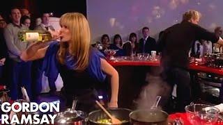 Crab pasta with Amanda Holden - Gordon Ramsay