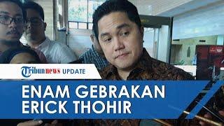 Sebulan Menjabat, Ini Gebrakan yang Dilakukan Menteri BUMN Erick Thohir