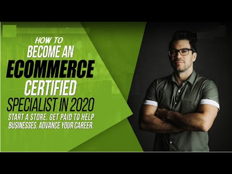 How To Become a Certified E-Commerce Specialist In The Post ...