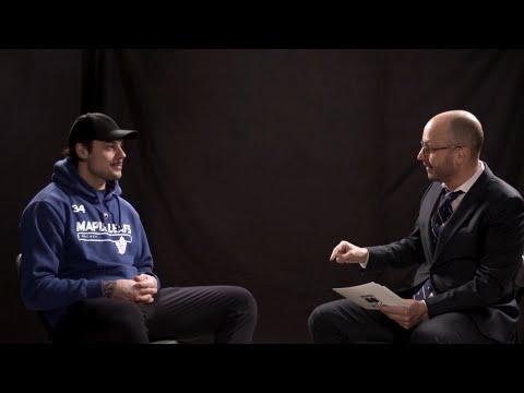 Auston Matthews discusses friendship with Justin Bieber on 'Men In Blazers'