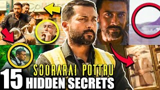 15 Hidden Details in Soorarai Pottru Teaser Detailed Breakdown | Suriya | G.V. Prakash Kumar